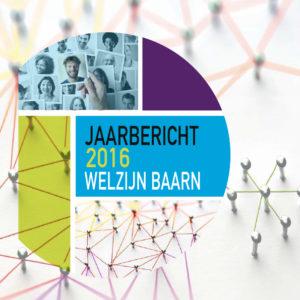Jaarbericht Welzijn Baarn Tekstschrijver Welzijn Baarn verrast inwoners en stakeholders jaarlijks met een fris jaarbericht. Aan de hand van interessante en leesbare artikelen wordt de lezer meegetrokken in het werk van deze welzijnsorganisatie.